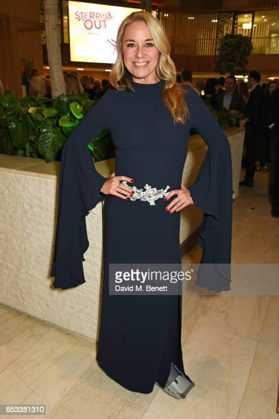 Tamzin Outhwaite attends the press night after party for 'Stepping Out' at the Coutts Bank on March 14 2017 in London England