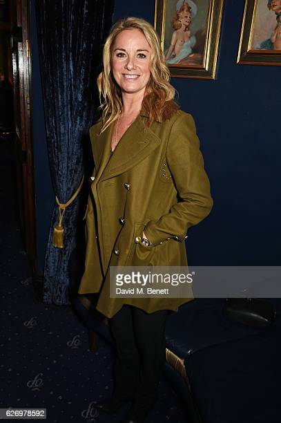 Tamzin Outhwaite attends the WhatsOnStage Awards nominations party at Cafe de Paris on December 1 2016 in London England