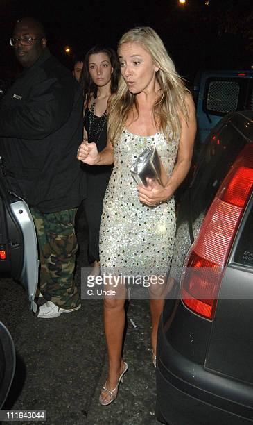 Tamzin Outhwaite during 2005 Glamour Women of the Year Awards Departures at Berkeley Square in London Great Britain