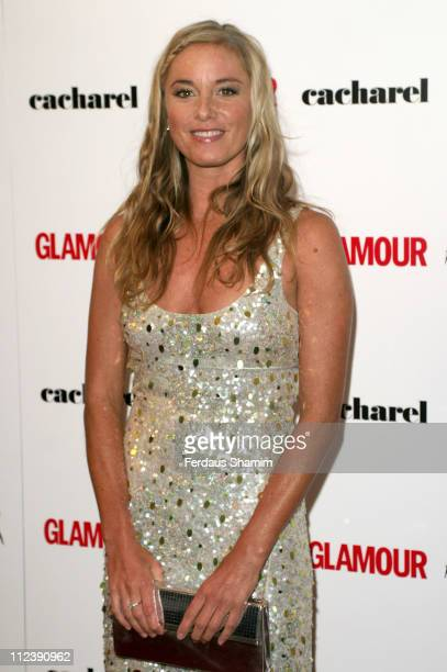 Tamzin Outhwaite during 2005 Glamour Women of the Year Awards Inside Arrivals at Berkeley Square in London Great Britain
