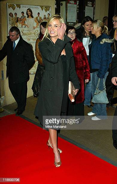 Tamzin Outhwaite during 'Suzie Gold' London Premiere at Screen On The Hill in London Great Britain