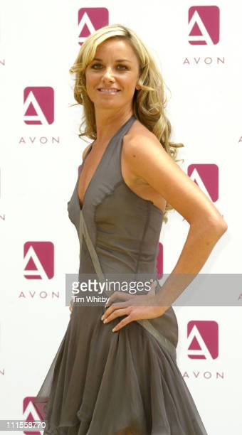 Tamzin Outhwaite during Tamzin Outhwaite Promotes Avon Cosmetics Photocall at Rex Cinema Bar in London Great Britain