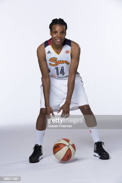 Tan White of the Connecticut Sun poses for a portrait during the 201213 WNBA Media Day on May 8 2013 at Mohegan Sun in Uncasville Connecticut NOTE TO...