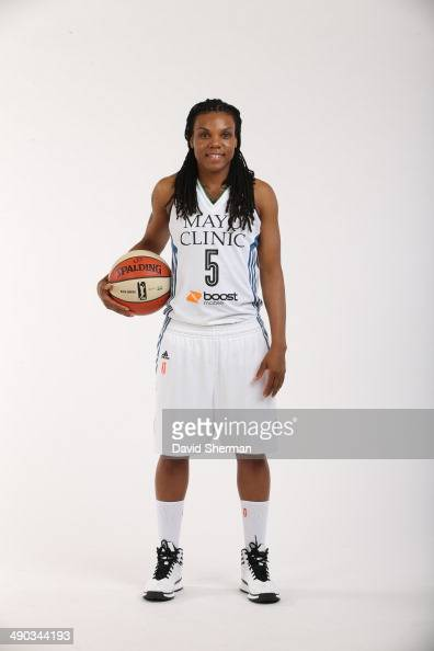 Tan White of the Minnesota Lynx poses for portraits during 2014 Media Day on May 12 2014 at the Minnesota Timberwolves and Lynx LifeTime Fitness...