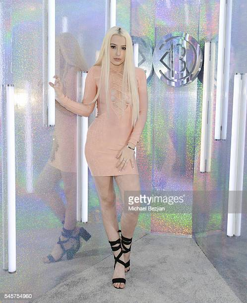 Tana Mongeau poses for portrait at the 4th Annual Beautycon Festival Los Angeles at Los Angeles Convention Center on July 9 2016 in Los Angeles...