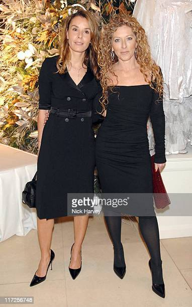 Tana Ramsay and Kelly Hoppen during The 225th Asprey Party Inside Arrivals at New Bond Street in London Great Britain