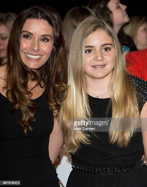 Tana Ramsay and Matilda Ramsay attend the National Television Awards at 02 Arena on January 21 2015 in London England