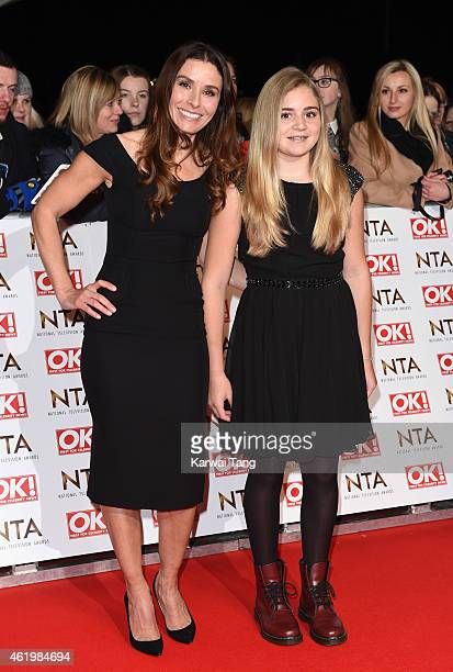 Tana Ramsay and Matilda Ramsay attends the National Television Awards at 02 Arena on January 21 2015 in London England