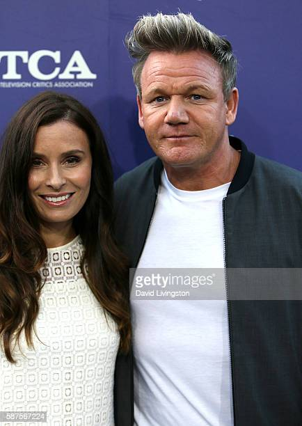 Tana Ramsey and television personality Gordon Ramsay attend the FOX Summer TCA Press Tour on August 8 2016 in Los Angeles California