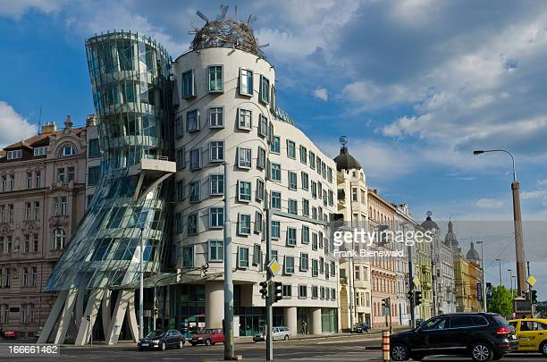 'Tančící dům' the 'Dancing House' was designed by CanadianAmerican architect Frank Gehry and completed in 1996