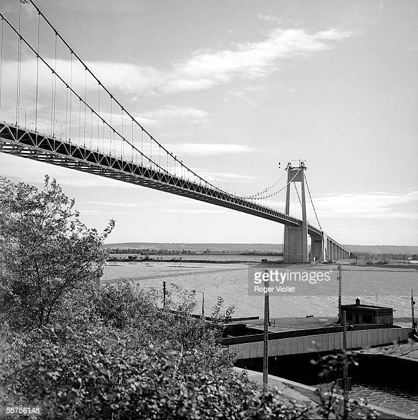 Tancarville The bridge October 1959 RV171653