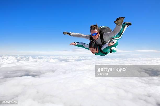 Tandem Parachutisme en chute libre