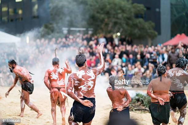Tanderrum, Melbourne Aboriginal Ceremony,