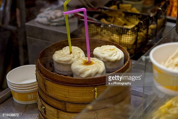 Tang Bao , Soup-filled dumplings.