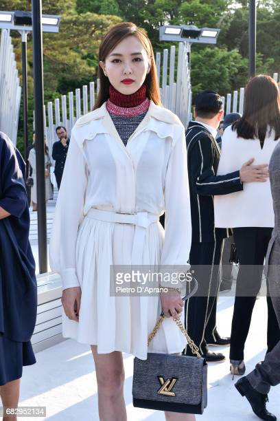 Tang Yan attends the Louis Vuitton Resort 2018 show at the Miho Museum on May 14 2017 in Koka Japan