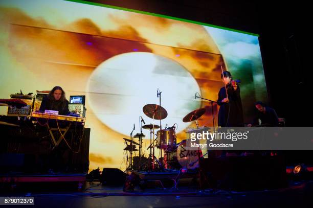 Tangerine Dream performon stage at Volksbuhne in Berlin Germany on November 19 2017