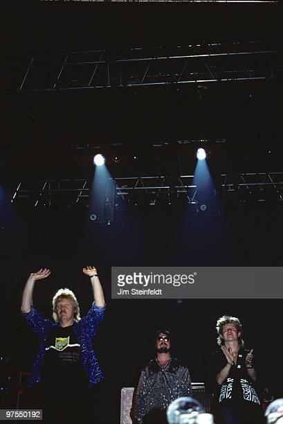 Tangerine Dream performs at the Orpheum Theatre in Minneapolis Minnesota on June 16 1986