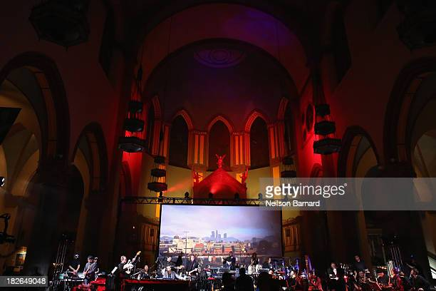 Tangerine Dream Woody Jackson and The Alchemist Oh No along with more than 20 other musicians perform a 70minute live concert featuring the original...