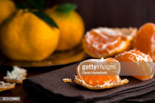 Mandarin Orange Dessert Stock Photos and Pictures | Getty Images