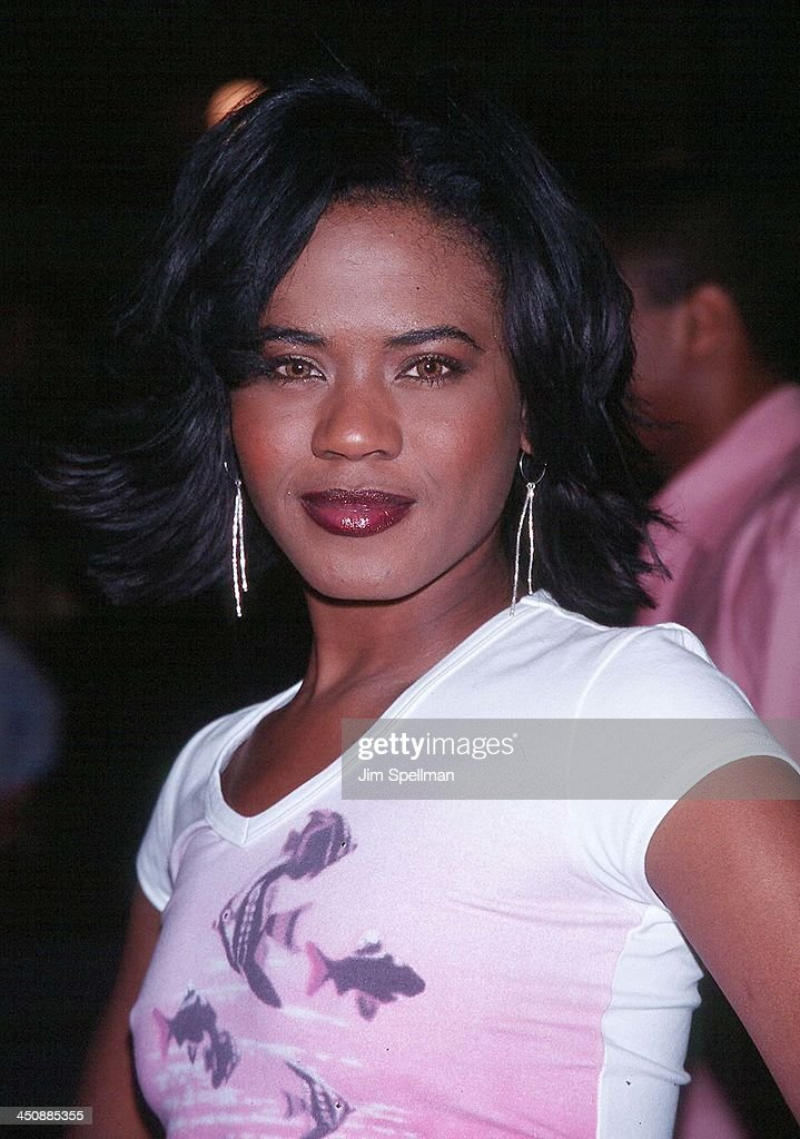 Tangi Miller during 2001 WB Television Network Uprfront All-Star Party at The light House Chelsea Piers, Pier 61 in New York City, New York, United States.