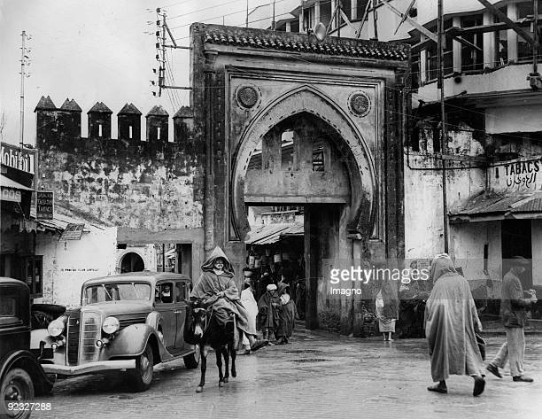 Tangiers the city of contrasts Photograph Around 1930