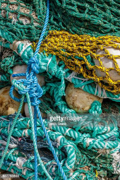 A tangle of fishing rope.