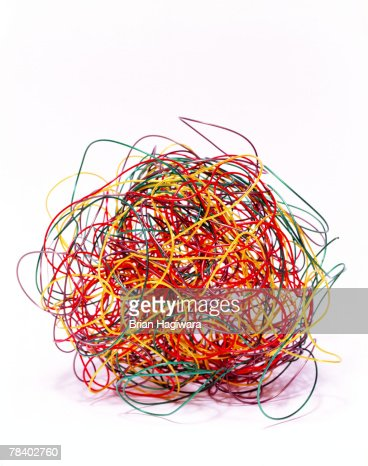 Tangled ball of wires