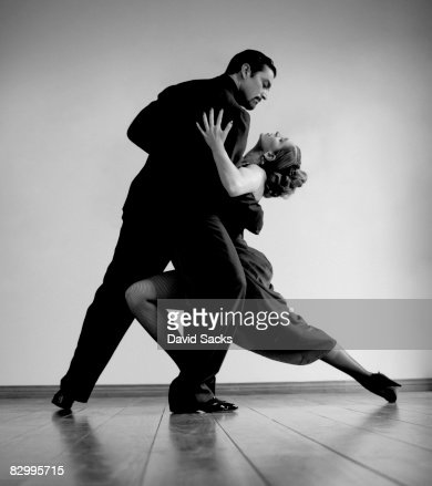 tango dancers : Stock Photo