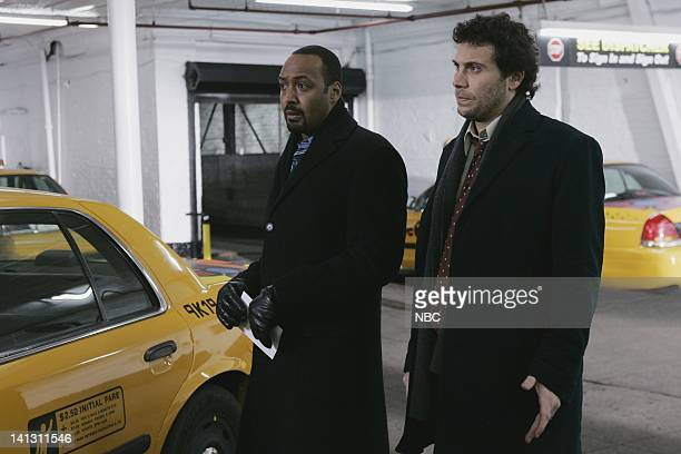 LAW ORDER 'Tango' Episode 1813 Pictured Jesse L Martin as Detective Ed Green Jeremy Sisto as Detective Cyrus Lupo NBC Photo Will Hart