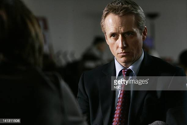 LAW ORDER 'Tango' Episode 1813 Pictured Linus Roache as Executive ADA Michael Cutter NBC Photo Will Hart