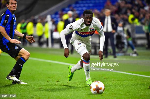 Tanguy Ndombele Alvaro during the Uefa Europa League match between Lyon and Atalante Bergame on September 28 2017 in Lyon France