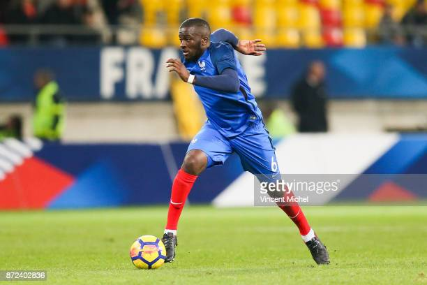 Tanguy Ndombele of France during the Under 21s Euro 2019 qualifying match between France U21 and Bulgaria U21 on November 9 2017 in Le Mans France