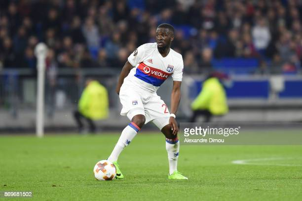 Tanguy Ndombele of Lyon during the Europa League match between Lyon and Everton at Groupama Stadium on November 2 2017 in Lyon France