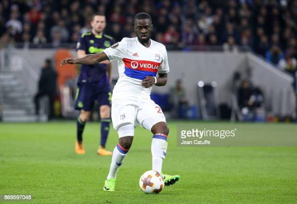 Tanguy Ndombele of Lyon during the UEFA Europa League group E match between Olympique Lyonnais and Everton FC at Groupama Stadium on November 2 2017...