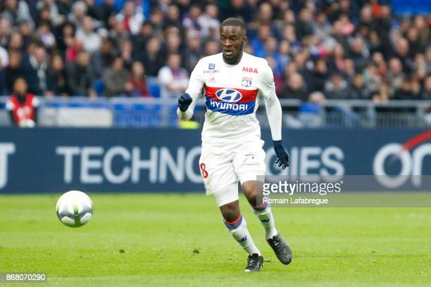 Tanguy Ndombele of OL during the Ligue 1 match between Olympique Lyonnais and Fc Metz at Parc Olympique on October 29 2017 in Lyon