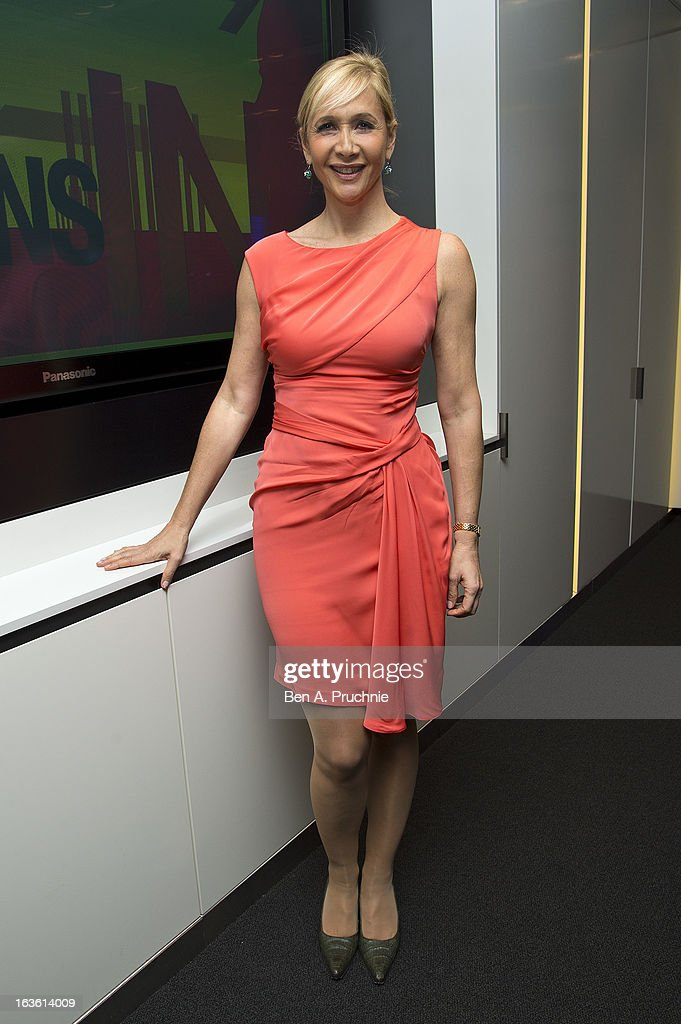 Tania Bryer attends the screening of Tania Bryer's CNBC interview with former President Bill Clinton on March 13, 2013 in London, England.