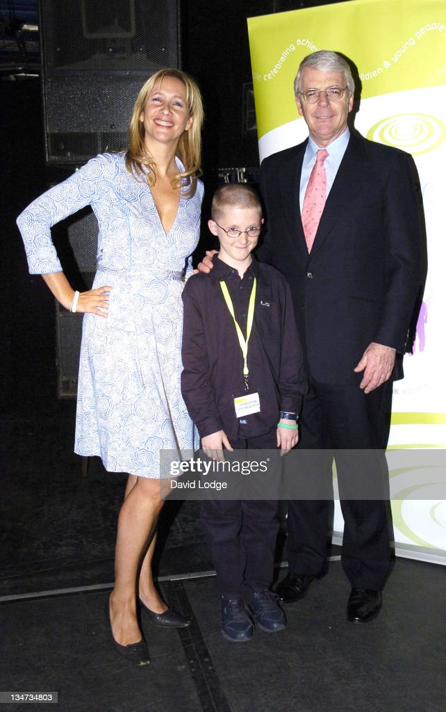 Tania Bryer John Major and Jamie Langdon during The Wavemaker Awards Photocall in London Great Britain