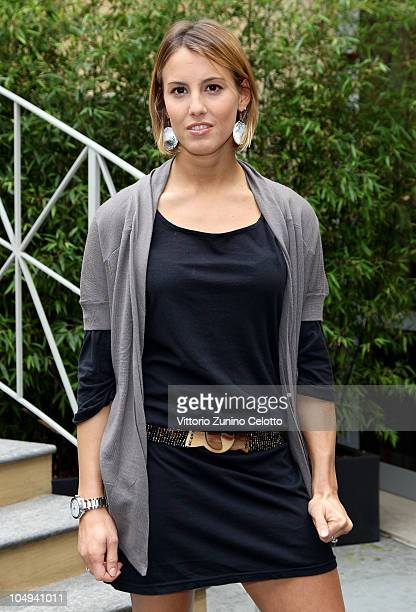 Tania Cagnotto attends the Herbalife Press Conference held at Four Seasons Hotel on October 7 2010 in Milan Italy