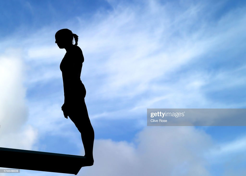 Tania Cagnotto of Italy competes in the Women's 3m Springboard Diving Semifinal round on day eight of the 15th FINA World Championships at Piscina Municipal de Montjuic on July 27, 2013 in Barcelona, Spain.