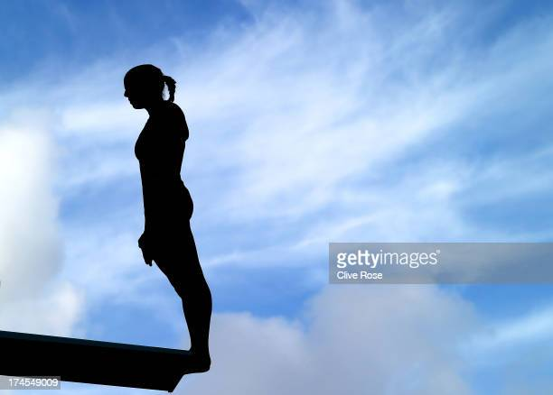 Tania Cagnotto of Italy competes in the Women's 3m Springboard Diving Semifinal round on day eight of the 15th FINA World Championships at Piscina...