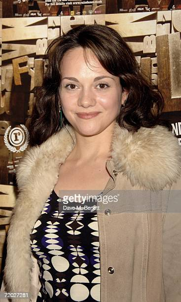 Tania Emery attends the opening night of the Raindance Film Festival showing 'Brothers of the Head' at Cineworld Cinemas Haymarket on September 27...
