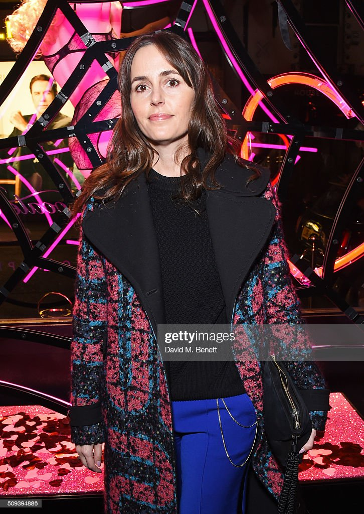 Tania Fares attends an intimate cocktail event hosted at Agent Provocateur Grosvenor Street boutique to celebrate the launch of the Agent Provocateur and Charlotte Olympia capsule collection on February 10, 2016 in London, England.