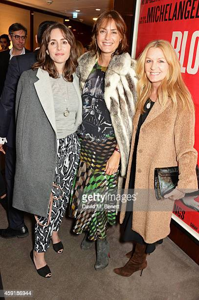 Tania Fares Yasmin Le Bon and Amanda Kyme attend a screening hosted by PORTER in honour of cover girl Christy Turlington Burns and her charity Every...