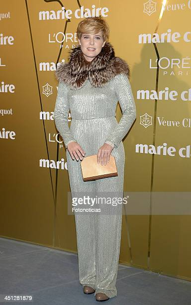 Tania Llasera attends 'Marie Claire Prix de la Moda' 2013 at the French Ambassador residence on November 21 2013 in Madrid Spain