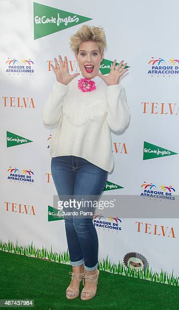 Tania Llasera attends 'Telva Children Awards 2015' party at Parque de Atracciones on March 24 2015 in Madrid Spain