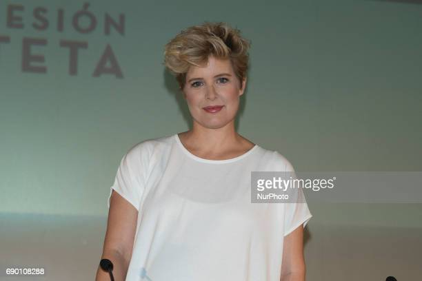 Tania Llasera attends the presentation of 'Session TETA' in the cinemas of the Vaguada of Madrid Spain May 30 2017