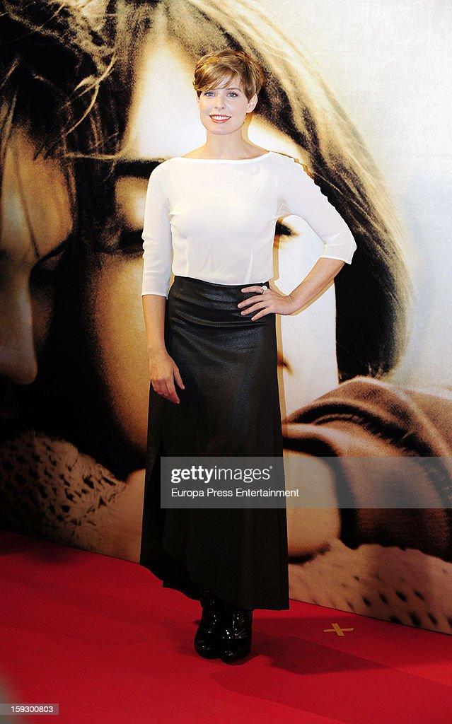 Tania Llasera attends 'Venuto Al Mondo' premierte at Capitol Cinema on January 10, 2013 in Madrid, Spain.