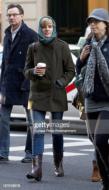 Tania Llasera is seen on December 3 2012 in Madrid Spain