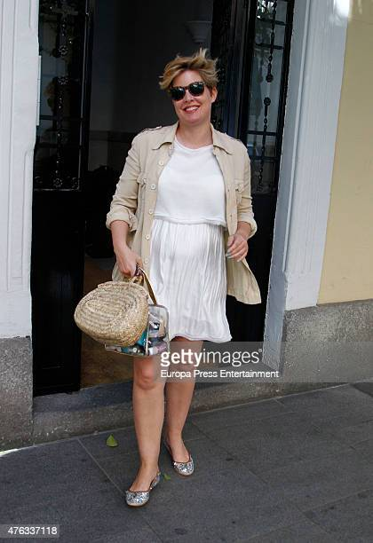 Tania Llasera is seen on June 5 2015 in Madrid Spain