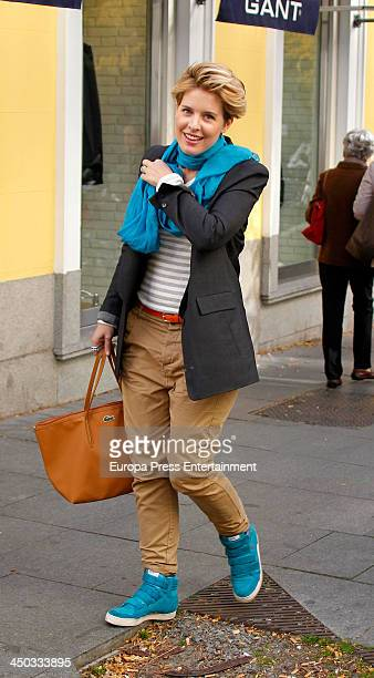 Tania Llasera is seen on November 13 2013 in Madrid Spain
